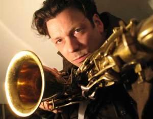 marijn met saxofoon